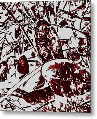 Spirit Of Leaves Metal Print