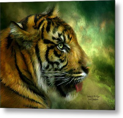 Spirit Of The Tiger Metal Print
