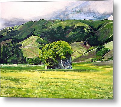 Spirit Rock Metal Print by Colleen Proppe