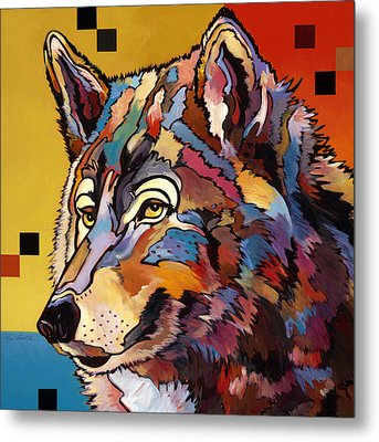 Spirit Wolf Metal Print by Bob Coonts