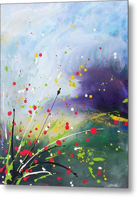 Spirits Of The First May Flowers Metal Print by Kume Bryant