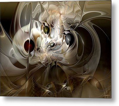 Metal Print featuring the digital art Spiritual Chops by Casey Kotas