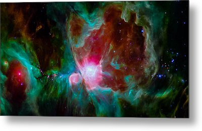 Spitzer's Orion Metal Print