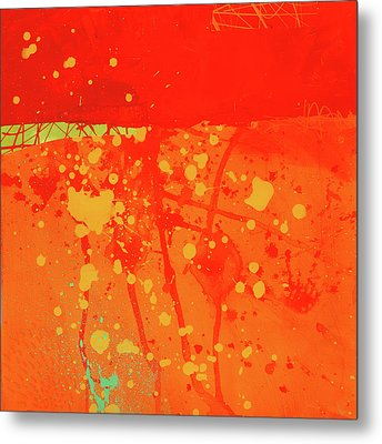 Splash 6 Metal Print