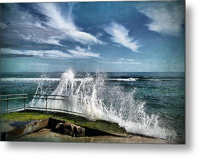 Splash Happy Metal Print by Kym Clarke