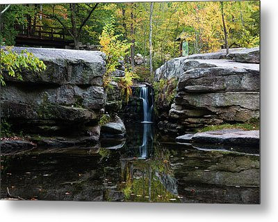 Split Rock In October #1 Metal Print by Jeff Severson