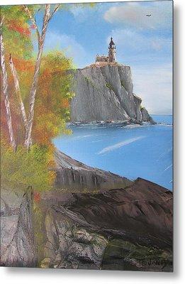 Split Rock Lighthouse Minnesota Metal Print