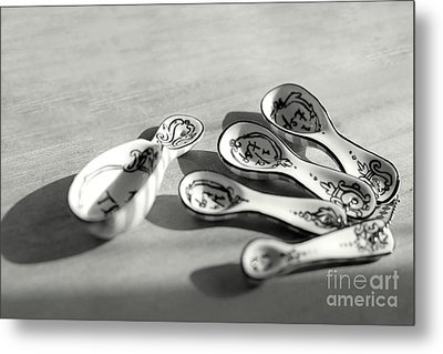 Metal Print featuring the photograph Spoon Family by Aiolos Greek Collections