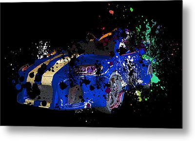 Sport Cars Metal Print by Mark Ashkenazi