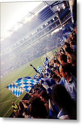 Sporting Kansas City Metal Print by Stacia Blase
