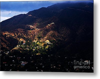 Spotlight From The Heavens Metal Print by Clayton Bruster