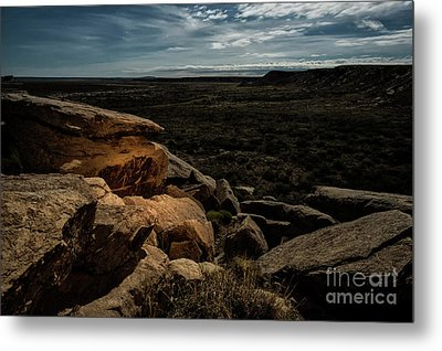 Metal Print featuring the photograph Spotlight On History by Melany Sarafis