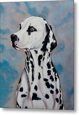 Spotty Metal Print by Lilly King