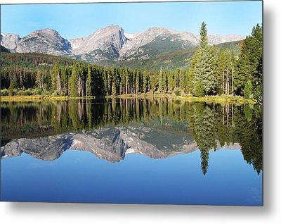 Sprague Lake Rocky Mountains Metal Print by David Yunker