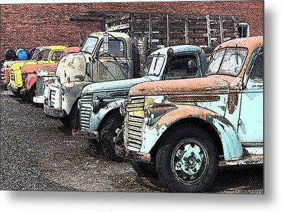 Sprague Trucks Metal Print by Brent Easley