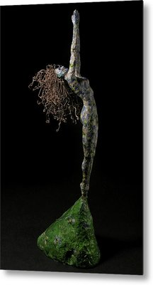 Spring A Sculpture By Adam Long Metal Print