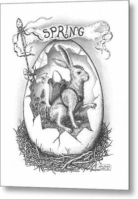 Spring Arrives Metal Print by Adam Zebediah Joseph