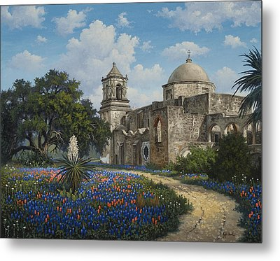 Spring At San Jose Metal Print