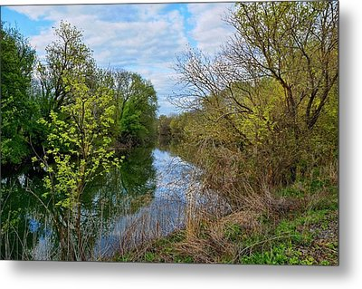 Spring At Tinicum  Metal Print by Lanis Rossi