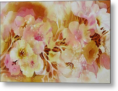 Spring-blooms Metal Print by Nancy Newman