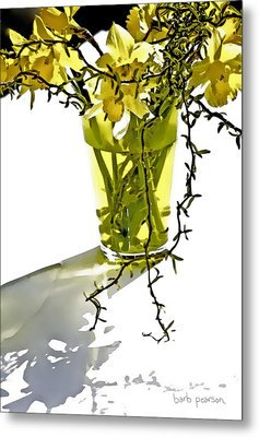 Spring Bouquet Metal Print by Barb Pearson