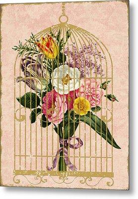 Spring Bouquet I Metal Print