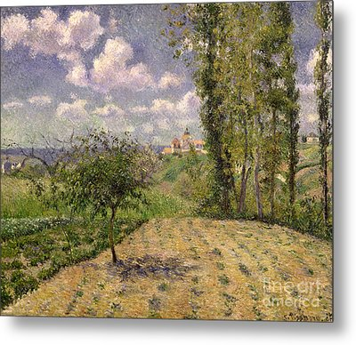 Spring Metal Print by Camille Pissarro
