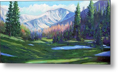 Spring Colors In The Rockies Metal Print by Billie Colson