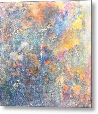 Spring Creation Metal Print by Theresa Marie Johnson