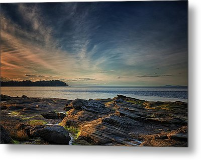 Spring Evening At Madrona Metal Print by Randy Hall