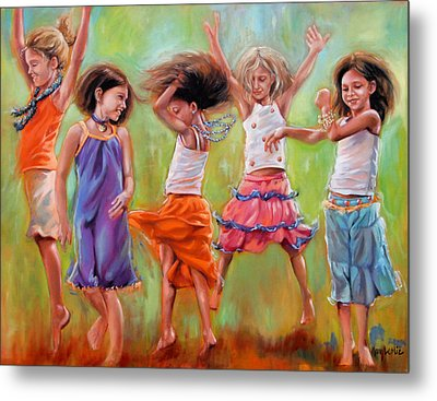 Spring Fever Metal Print by Mary Leslie