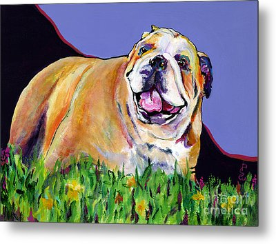 Spring Fever Metal Print by Pat Saunders-White