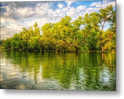 Spring Glow Metal Print by Debra and Dave Vanderlaan