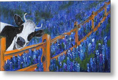 Metal Print featuring the painting Spring Has Sprung by Jamie Frier