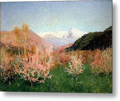 Spring In Italy Metal Print by Isaak Ilyich Levitan