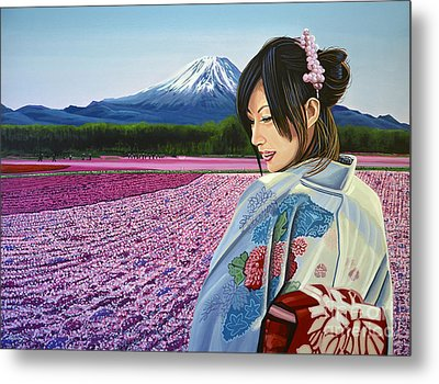 Spring In Japan Metal Print by Paul Meijering