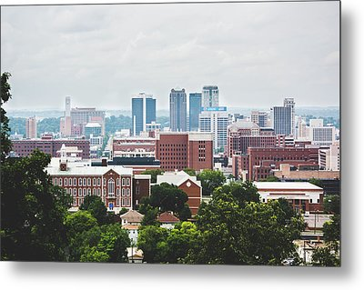 Metal Print featuring the photograph Spring In The Magic City - Birmingham by Shelby Young