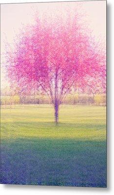 Spring Is A Blur Metal Print