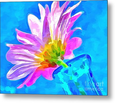 Spring Is Here Metal Print by Krissy Katsimbras
