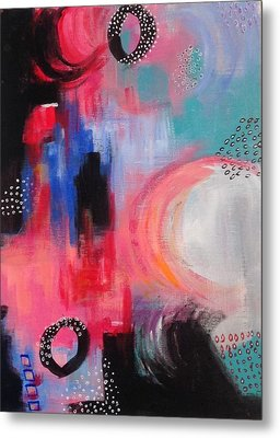 Squiggles And Wiggles #3 Metal Print by Suzzanna Frank
