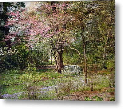 Metal Print featuring the photograph Spring by John Rivera