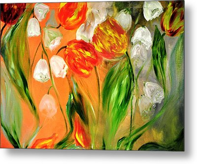 Spring Mood Metal Print by Evelina Popilian