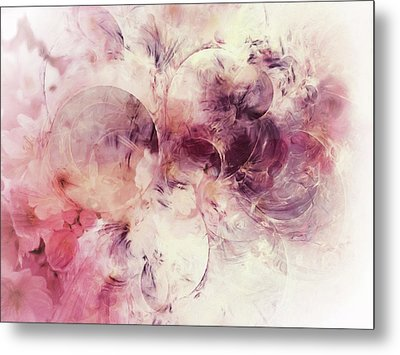 Spring Moods Abstract Metal Print