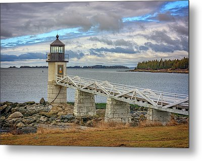 Metal Print featuring the photograph Spring Morning At Marshall Point by Rick Berk