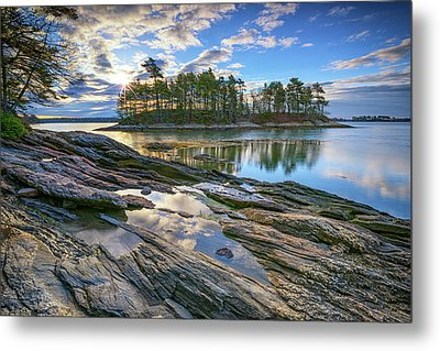 Metal Print featuring the photograph Spring Morning At Wolfe's Neck Woods by Rick Berk