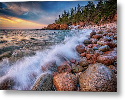 Spring Morning In Acadia National Park Metal Print by Rick Berk