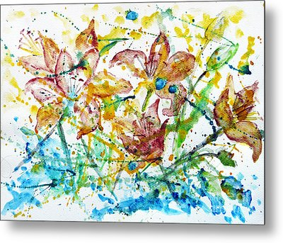 Spring Rhapsody Metal Print by Jasna Dragun