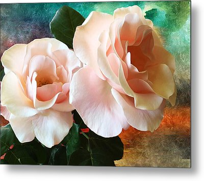 Spring Roses Metal Print by Gabriella Weninger - David