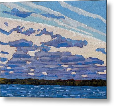 Spring Stratocumulus Metal Print by Phil Chadwick