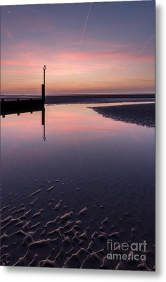 Spring Sunset Metal Print by Adrian Evans